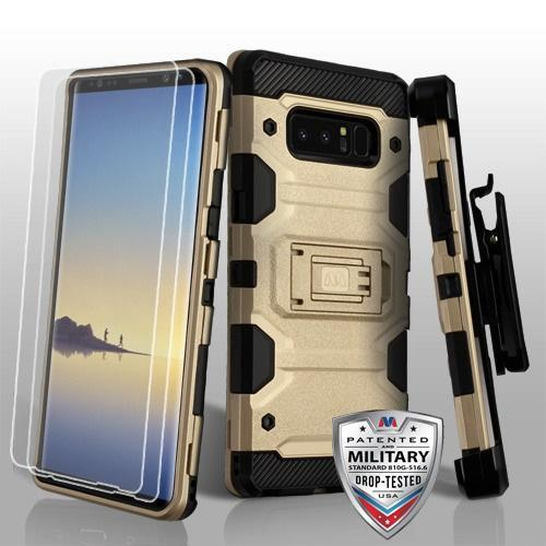 Storm Tank Holster Combo Galaxy Note 8 Case - Gold