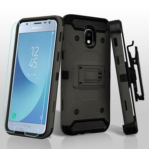 Kinetic Holster Galaxy J3 V 3rd / J3 Star / Amp Prime 3 Case - Grey