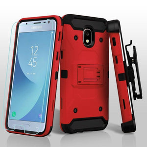 Kinetic Holster Galaxy J3 V 3rd / J3 Star / Amp Prime 3 Case - Red