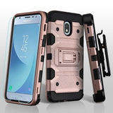 Storm Tank Galaxy J3 V 3rd / J3 Star / Amp Prime 3 Case Holster - Rose Gold