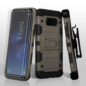 Storm Tank Galaxy S8+ Plus Holster Combo Case - Dark Grey/Black