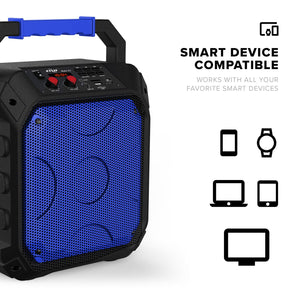 ZIZO ROKR Z1 Portable Bluetooth Speaker - Blue