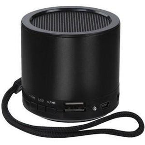MYBAT Portable Mobile Speaker with SD and USB Slot - Black