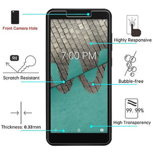 Zizo Screen Protector for WIKO Ride - Tempered Glass