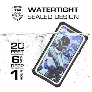 GHOSTEK Nautical iPhone X / Xs Rugged Waterproof Case - White
