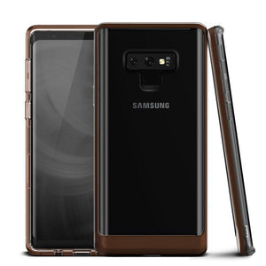 VRS Crystal Bumper Galaxy Note 9 Case - Brown