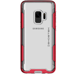 Ghostek CLOAK3 Shockproof Bumper Galaxy S9 Case - Red