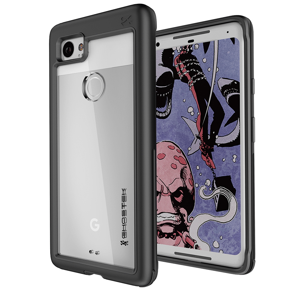 GHOSTEK Atomic Slim Series Google Pixel 2 XL Case - Black