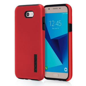 Incipio DUALPRO Galaxy J7 (2017) / J7 V Case - Iridescent Red