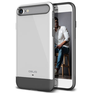 "Obliq Dual Meta iPhone 7 / 8 / SE 2nd 2020 (4.7"") Case - White"