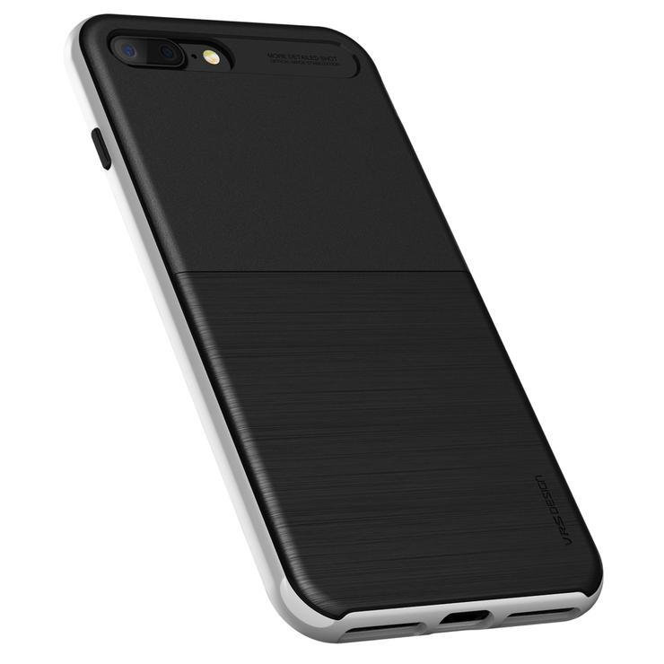 "VRS Slim Pro Shield iPhone 7 Plus / 8 Plus (5.5"") Case - Satin Silver"