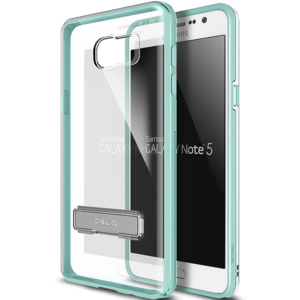 Obliq Naked Shield Series Galaxy Note 5 Case - Mint Turquoise