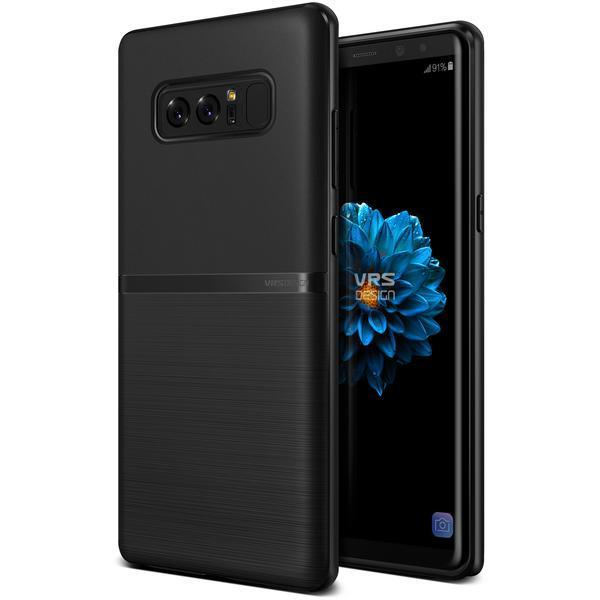 VRS Single Fit Series Galaxy Note 8 Case - Black