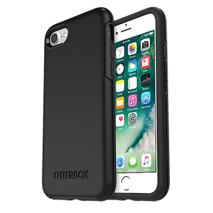 OtterBox Symmetry Series Case for iPhone SE (2020)/8/7 - Black