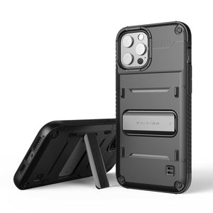 VRS Damda Quick-Stand iPhone 12 / 12 Pro Case - Black