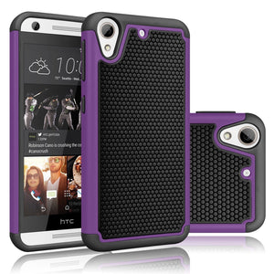 DW HYBRID ARMOR HTC Desire 626/626S Case - Purple