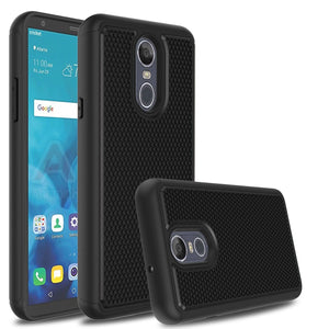 Grippy Hybrid LG Stylo 4 / Stylo 4+ Plus Case - Black