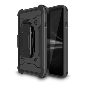 Kinetic Holster Combo LG Q7 / Q7+ Plus Case - Black