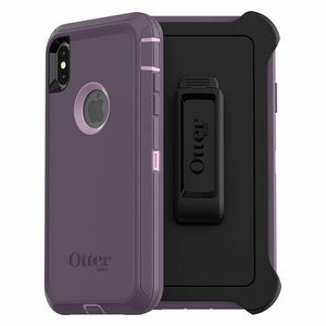OtterBox Defender Case Holster for iPhone XS Max - Purple Nebula
