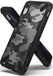 Ringke FUSION-X Shockproof Armor iPhone XR Case - Camo Black