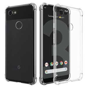Slim TPU Clear Bumper Google Pixel 3a Case - Crystal Clear