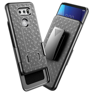 OEM LG V30 / V35 ThinQ Case Rugged Shell Holster