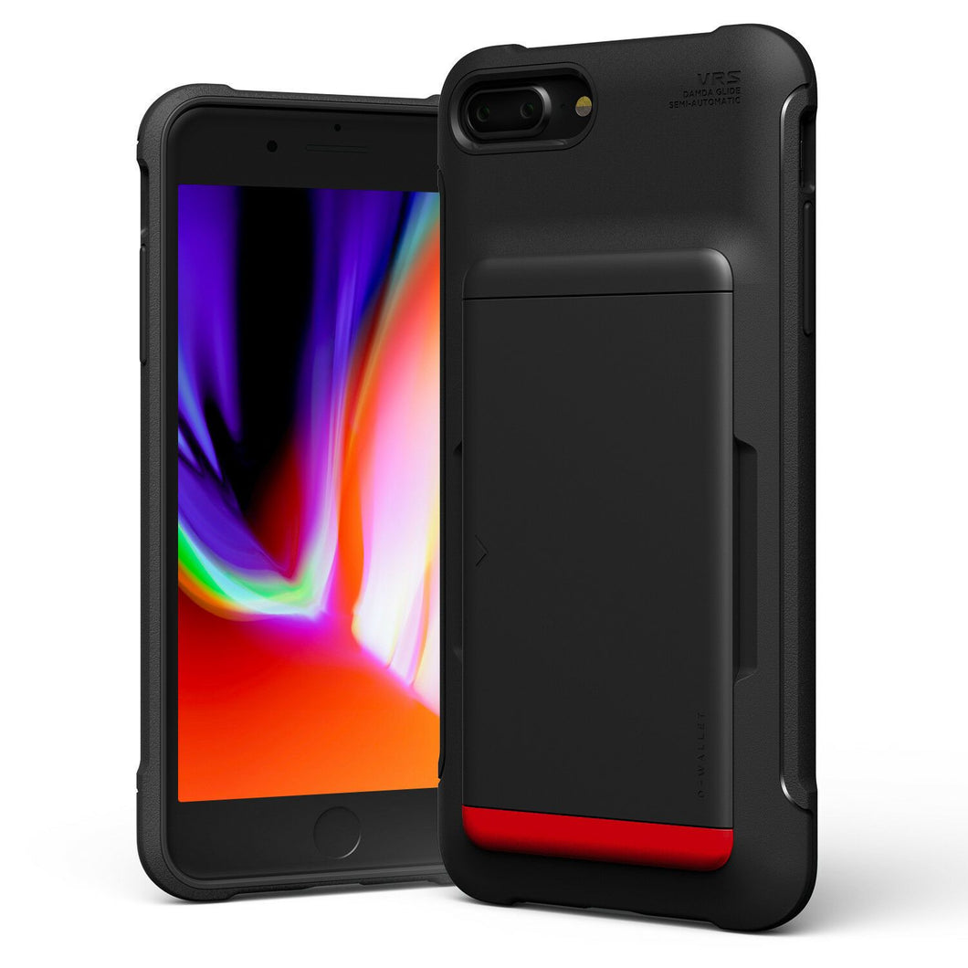 VRS Damda Glide [2nd Gen] iPhone 7 Plus / 8 Plus Case - Matte Black