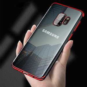 MPC Electroplating Crystal Hybrid Galaxy S9+ Plus Case - Red