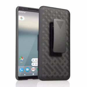 OEM Rugged Shell Holster Google Pixel 2 XL Case