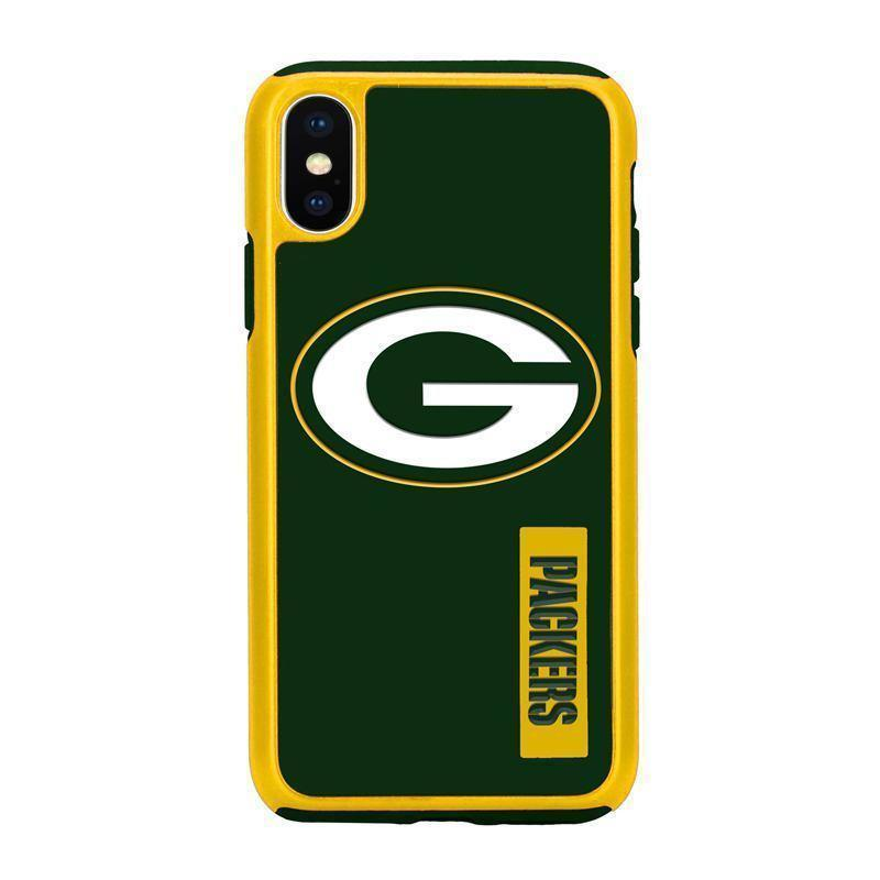 Official NFL Shock-Proof iPhone X / Xs Case - Green Bay Packers