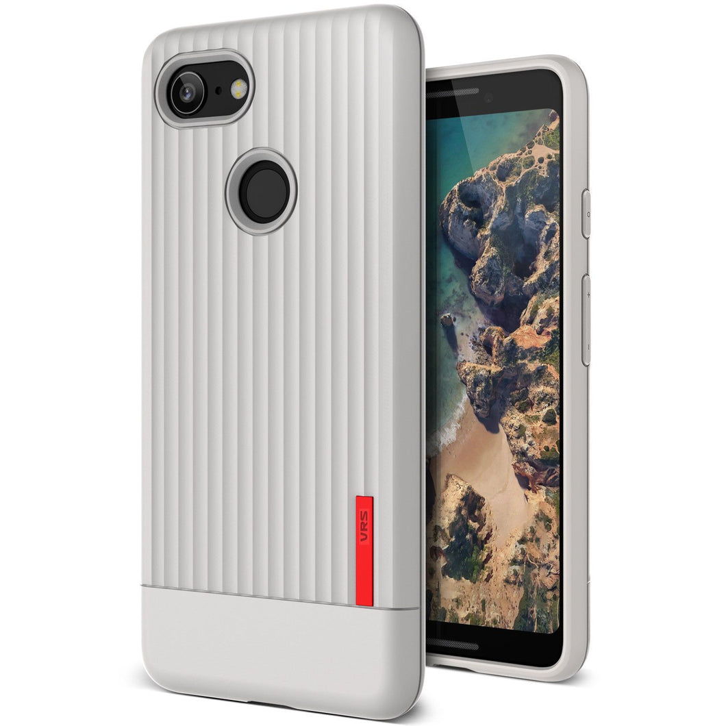 VRS Single Fit Label Series Google Pixel 3 Case - Gray