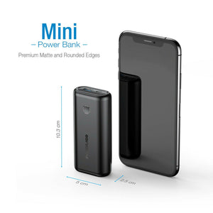 PowerAdd Portable 10000mAh Fast Charging Power Bank MP34BK(2020)
