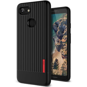 VRS Single Fit Label Series Google Pixel 3 Case - Black
