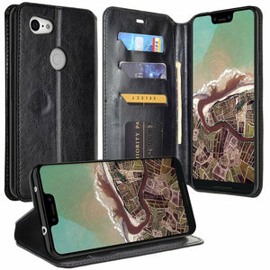 MyJacket Element Series Google Pixel 3a Wallet Case - Black