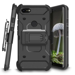 Kinetic Holster Google Pixel 3 XL Case Combo - Black