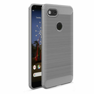 Brushed Carbon Fiber Google Pixel 3a Case
