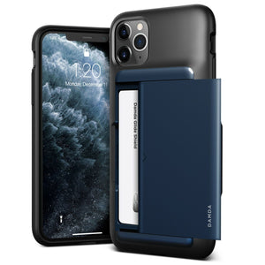 VRS Design Damda Glide Shield iPhone 11 Pro Case - Deep Sea Blue