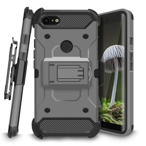 Kinetic Holster Google Pixel 3 XL Case Combo - Dark Grey