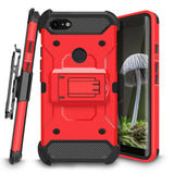 Kinetic Holster Google Pixel 3 XL Case Combo - Red