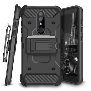 Kinetic 3-in-1 Alcatel AVALON V / 1X EVOLVE Case - Black