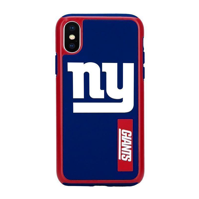 Official NFL Shock-Proof iPhone X / Xs Case - New York Giants