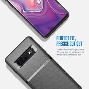 Obliq Flex Pro series Galaxy S10+ Plus Case - Black