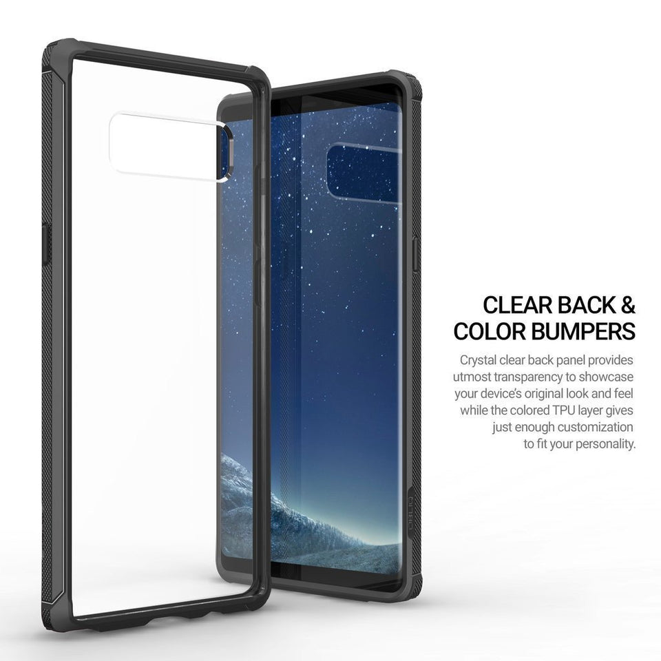 OBLIQ Naked Shield Galaxy Note 8 Case - Black
