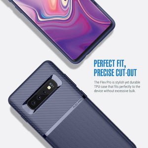 Obliq Flex Pro series Galaxy S10 Case - Navy