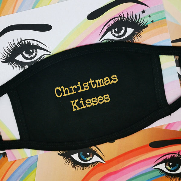 Face Mask - Christmas Kisses