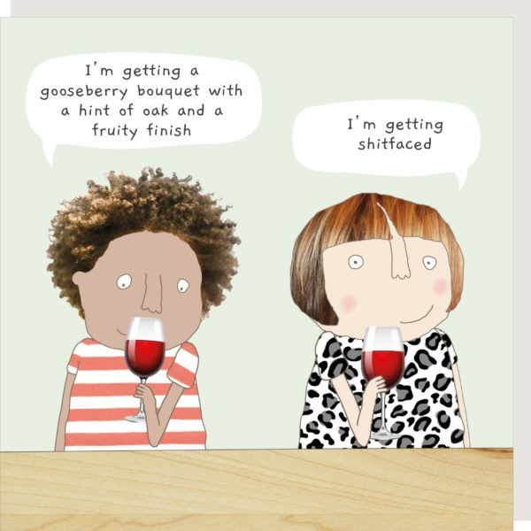 Wine Tasting Greetings Card