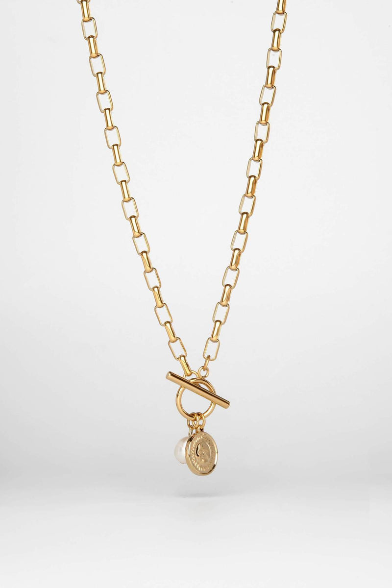 Birthday Necklace Gold