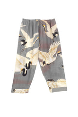 Stork Slate Cropped Lounge Pants