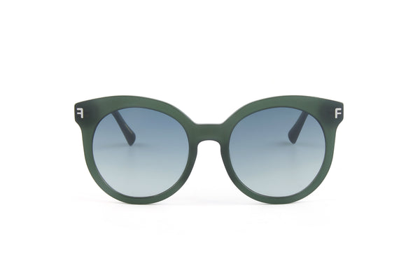 Front Row Sunglasses - Green
