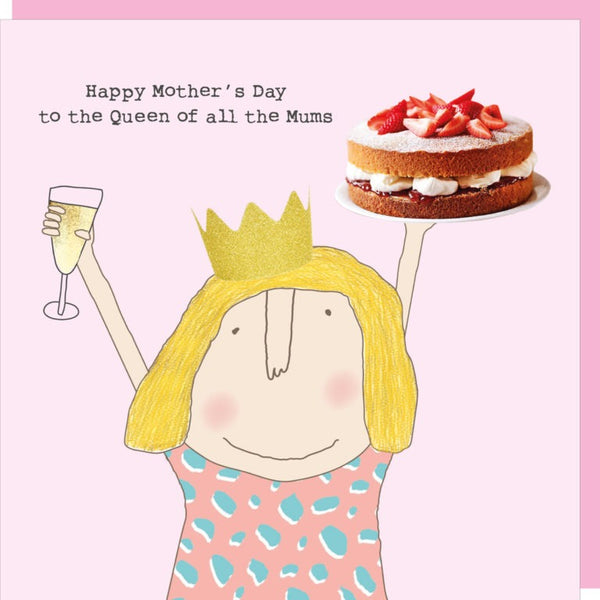 Queen of Mums Mother's Day Card